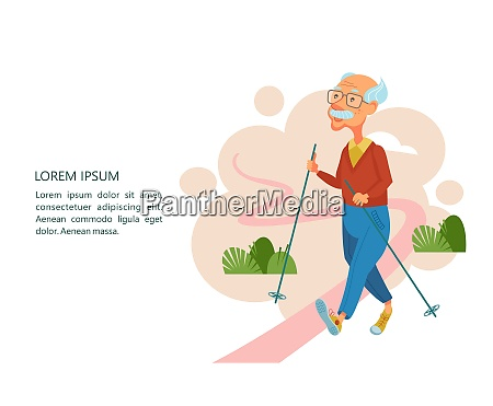 older people lead an active lifestyle