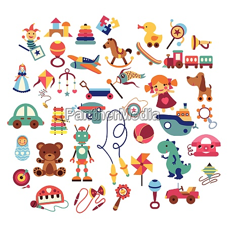 baby toy cartoon doodle baby toy