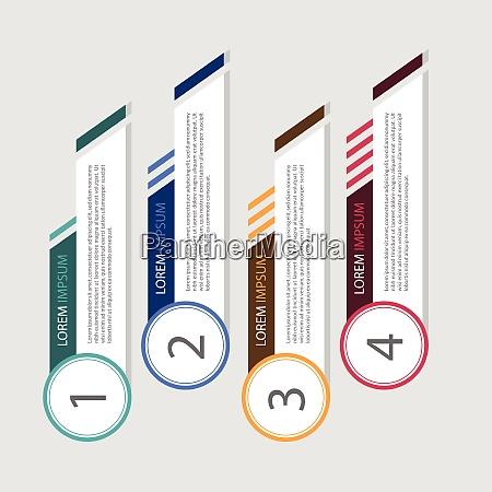 web element infographic vector icon art