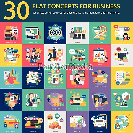 business success activity concept infographic icon