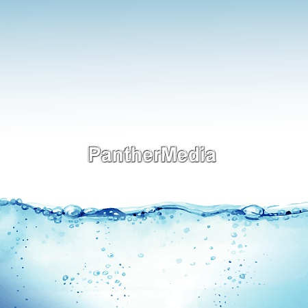 water theme vector art water theme