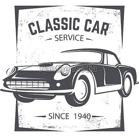 retro old car retro old car