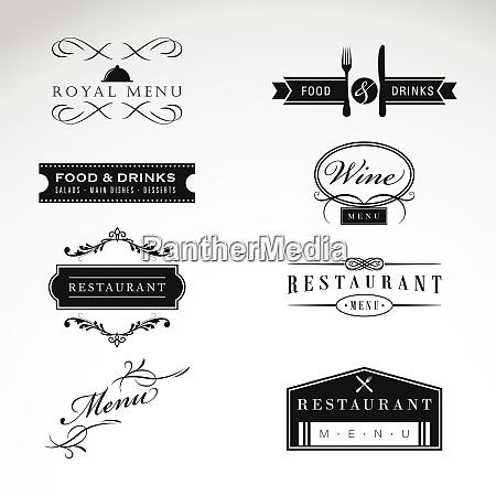 exclusive restaurant logo exclusive restaurant logo