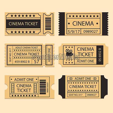 movie cinema ticket