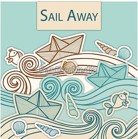 sail boat ship sail boat ship