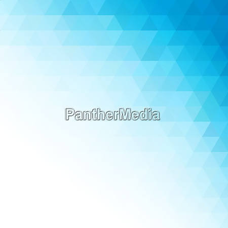 vector abstract blue geometric technology background