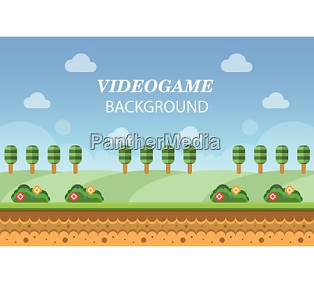video game asset menu icon background