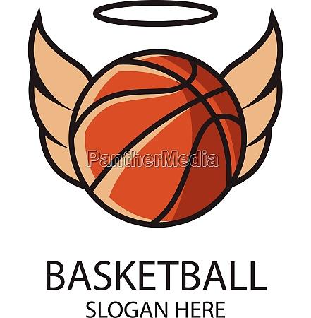 basketball sport theme vector art basketball