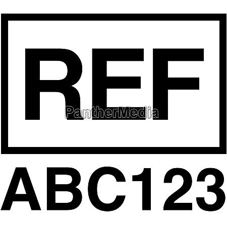 reference symbol