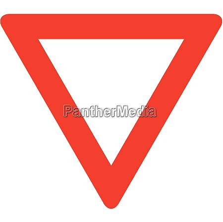 give way yield sign
