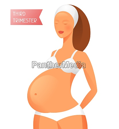 pregnant women in third trimester of