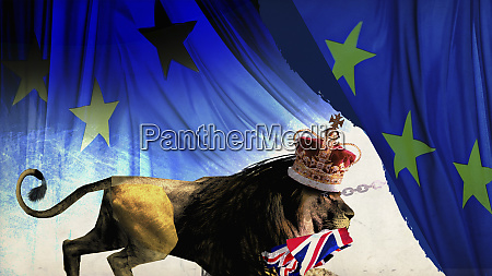 british lion leaving european union with