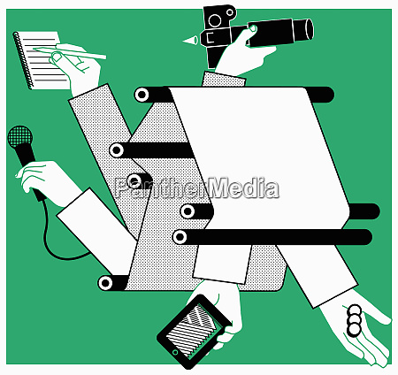 printed newspapers mobile technology and the