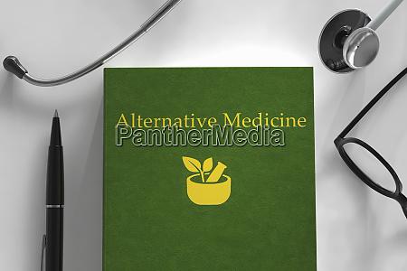medical book about alternative medicine