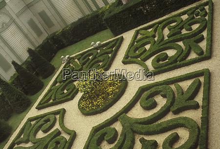 courtyard garden of the musee de