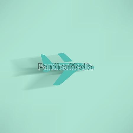 airplane symbol
