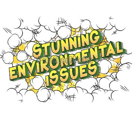 stunning environmental issues comic book