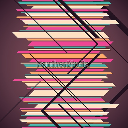 designed geometric abstraction