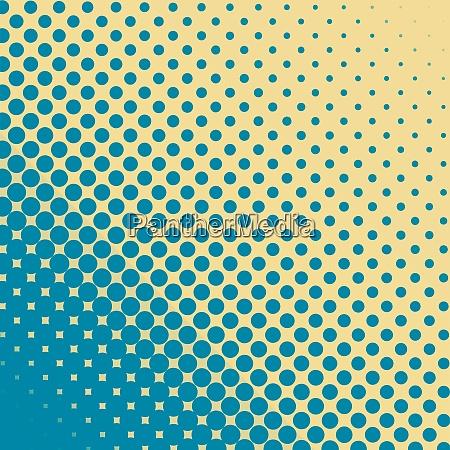 halftone geometric vector background