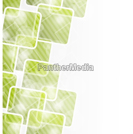 illustration abstract banner with squares for