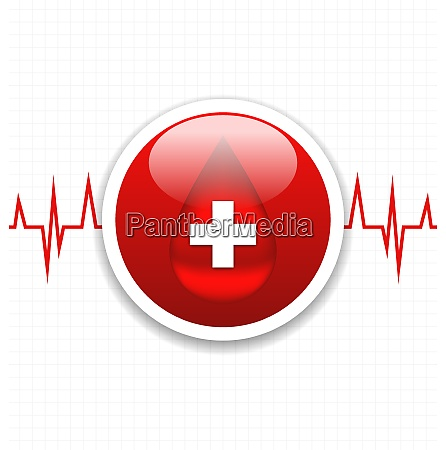 illustration abstract medical background save life