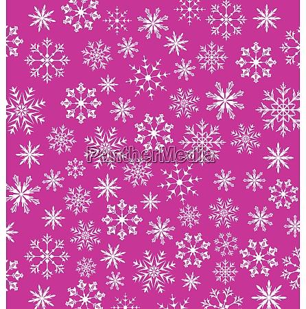 illustration noel pink wallpaper snowflakes texture