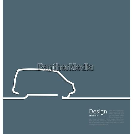 laconic design of velocity vehicle car