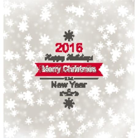 illustration merry christmas vintage retro typography