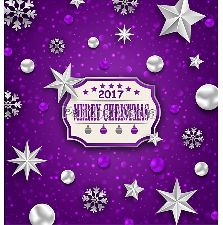 holiday silver starry background with best