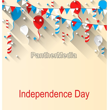 american patriotic banner for independence day