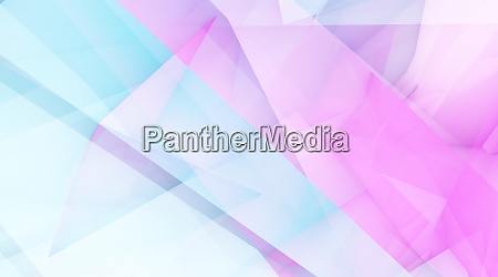 blue purple crystal polygon background