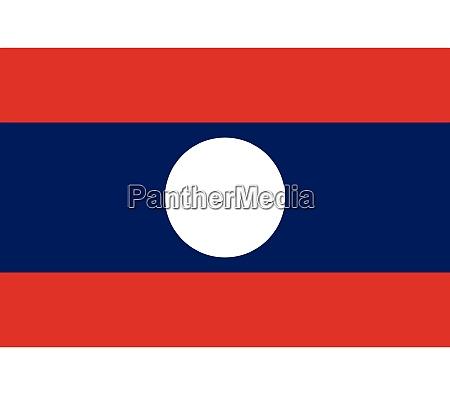 laos national flag
