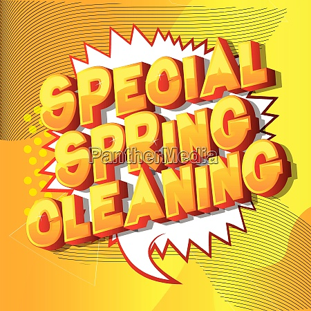 special spring cleaning comic book