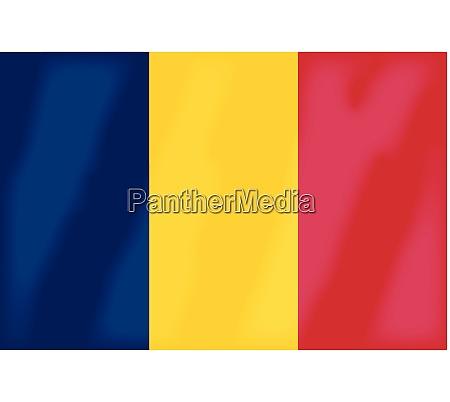 romania national flag