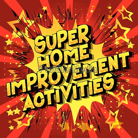 super home improvement activities comic