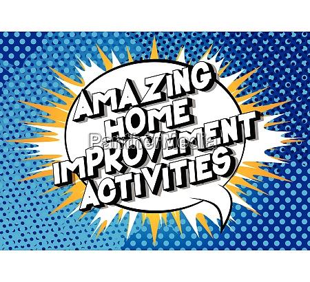amazing, home, improvement, activities, -, comic - 26835665