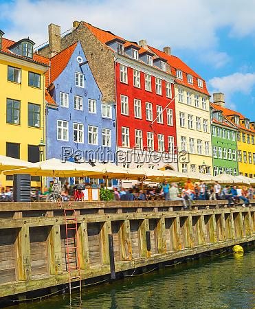 old town nyhavn harbor copenhagen
