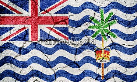 flag of the british indian ocean