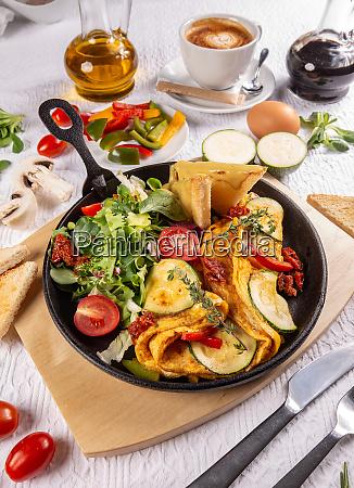 healthy breakfast meal