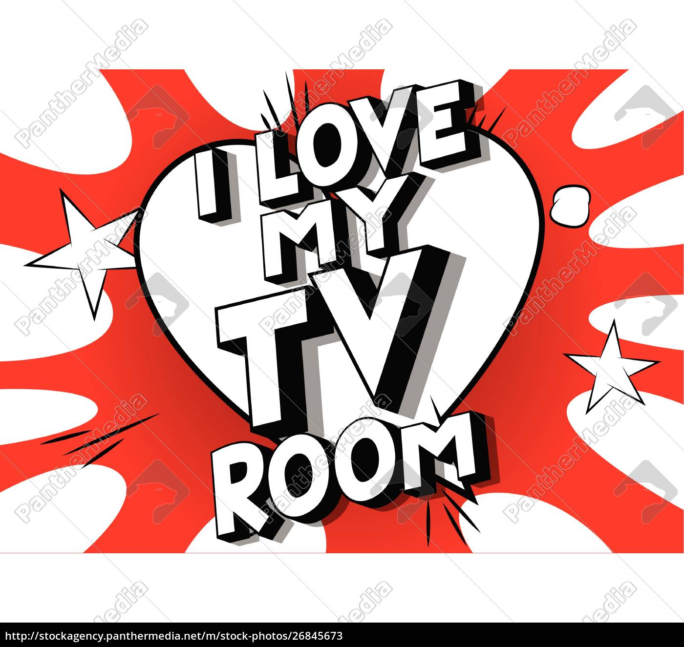 i, love, my, tv, room, - - 26845673
