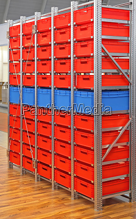 shelf for crates