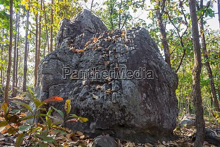 king seat stone or rock at
