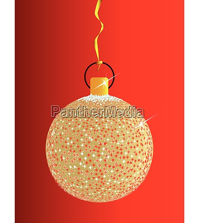 sparkle christmas ball