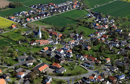 altengeseke aerial photo an agricultural small