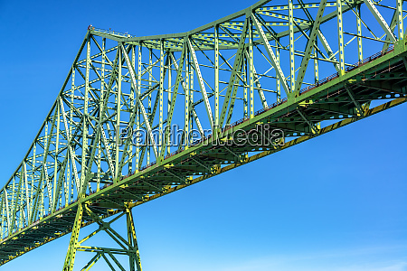 astoria megler bridge and sky
