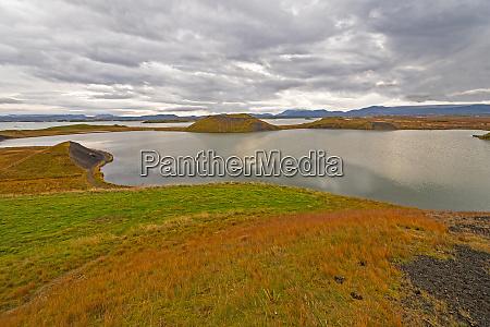 colorful hills in a remote tundra