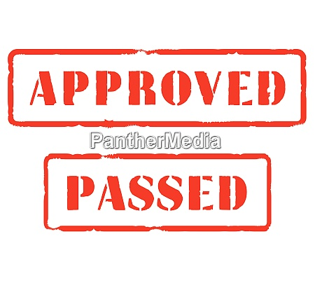 approved and passed