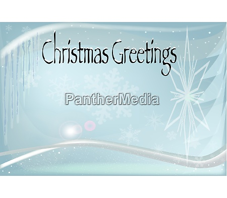 cold christmas greetings