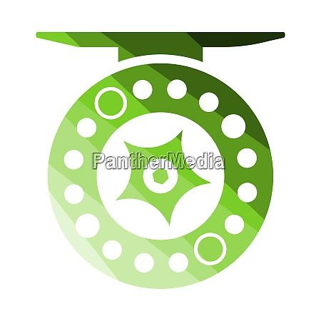 icon of fishing reel