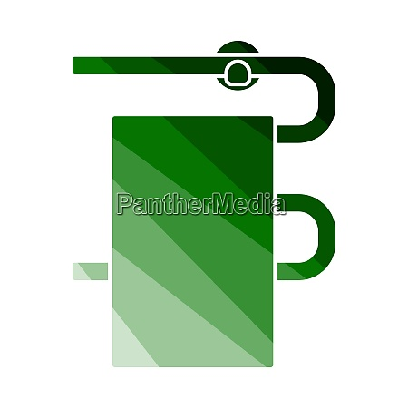 heated towel rail icon